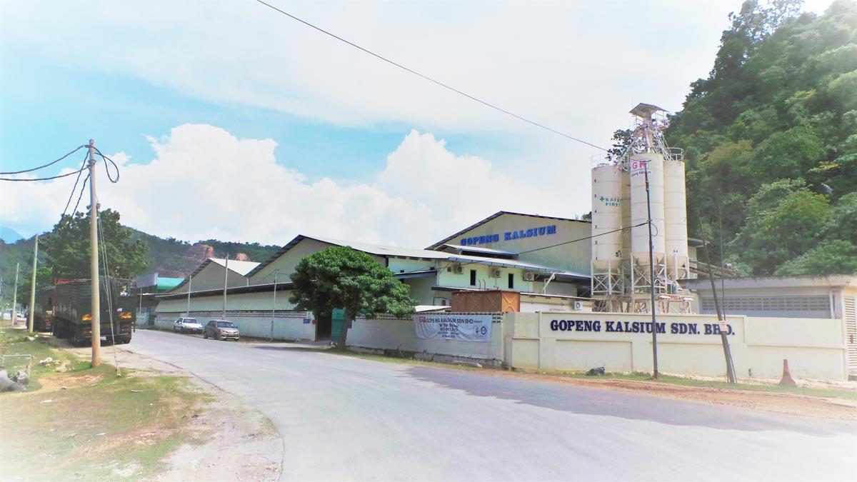 Gopeng Kalsium Plant 1